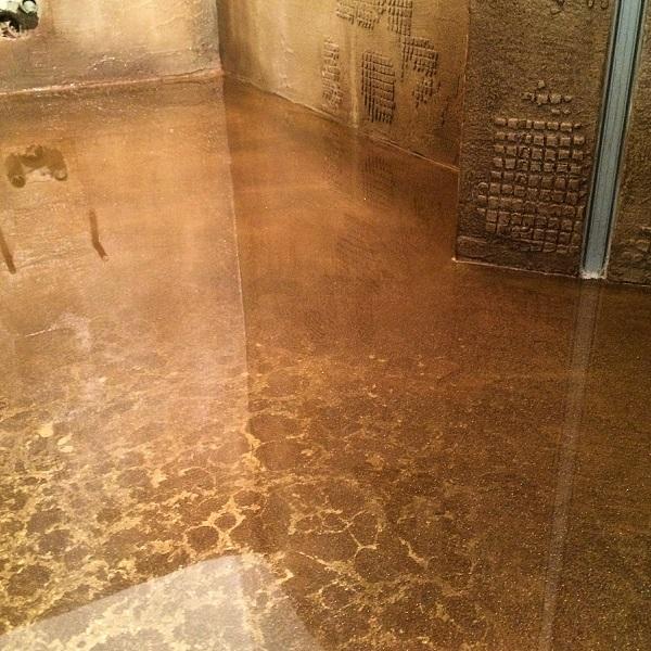 Resina pareti bagno resine per pareti materiali edilizia - Pavimenti bagno in resina ...